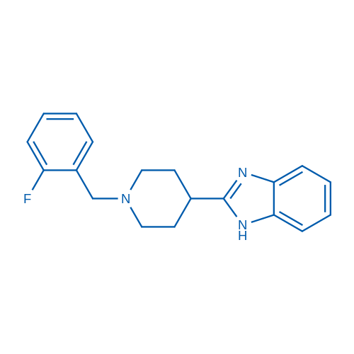 2-(1-(2-Fluorobenzyl)piperidin-4-yl)-1H-benzo[d]imidazole