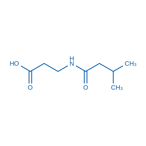 3-(3-Methylbutanamido)propanoic acid
