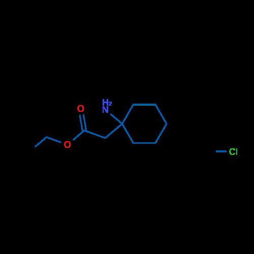 Ethyl 2-(1-aminocyclohexyl)acetate hydrochloride