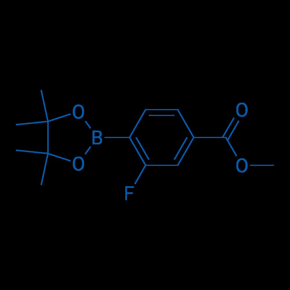 Methyl 3-fluoro-4-(4,4,5,5-tetramethyl-1,3,2-dioxaborolan-2-yl)benzoate
