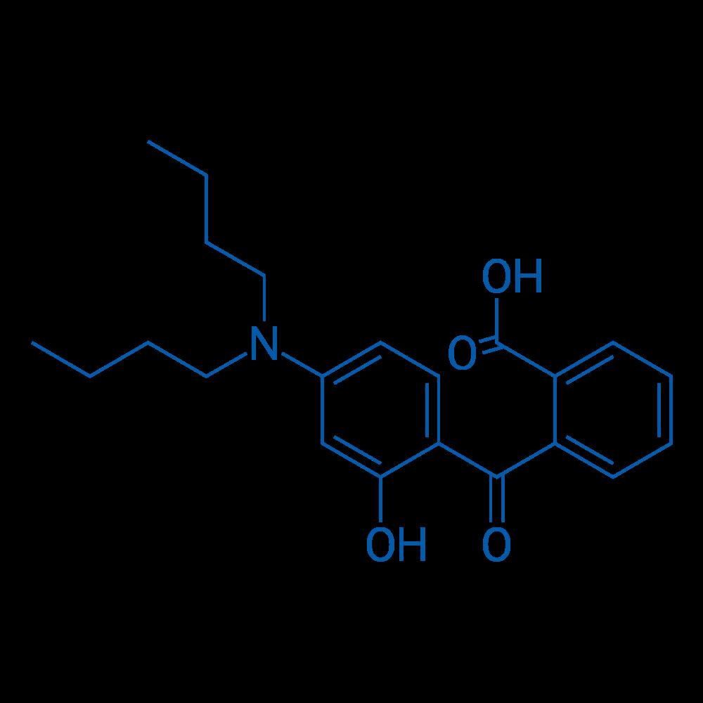 2-(4-(Dibutylamino)-2-hydroxybenzoyl)benzoic acid