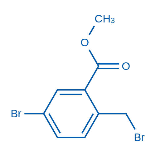 Methyl 5-bromo-2-(bromomethyl)benzoate
