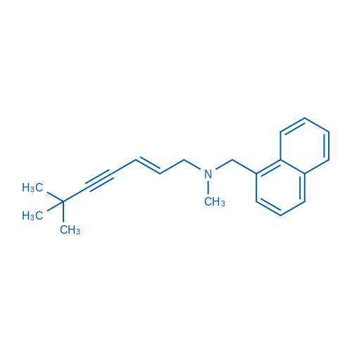(E)-N,6,6-Trimethyl-N-(naphthalen-1-ylmethyl)hept-2-en-4-yn-1-amine