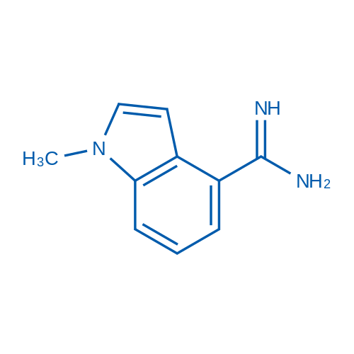 1-Methyl-1H-indole-4-carboximidamide