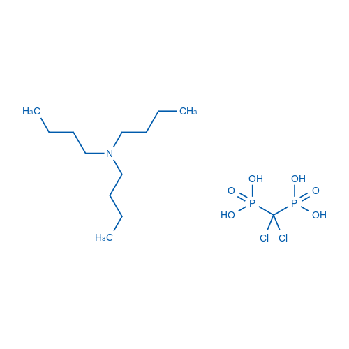 Tributylamine (dichloromethylene)bis(phosphonate)