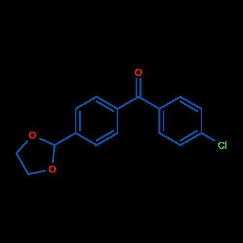 4-Chloro-4'-(1,3-dioxolan-2-yl)benzophenone