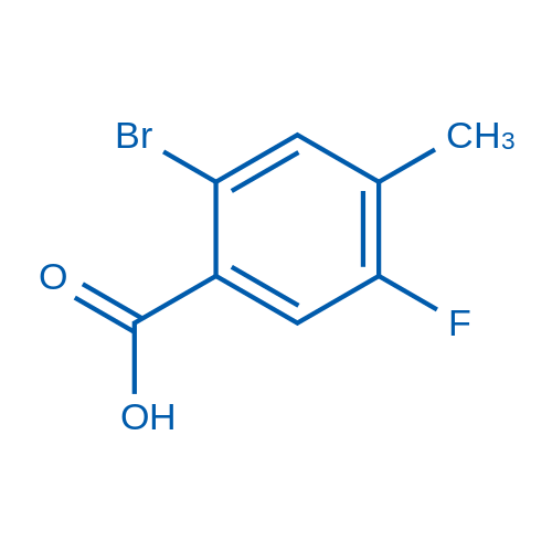 2-Bromo-5-fluoro-4-methylbenzoic acid