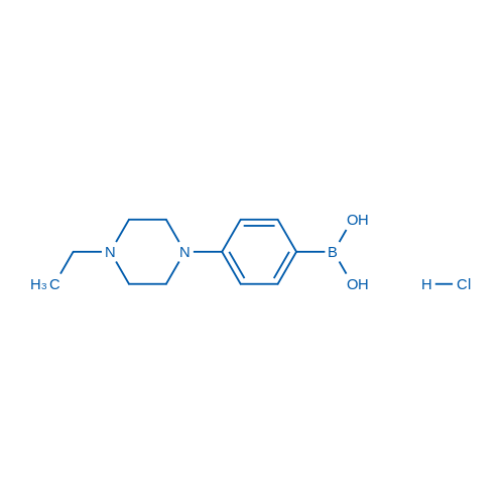(4-(4-Ethylpiperazin-1-yl)phenyl)boronic acid monohydrochloride