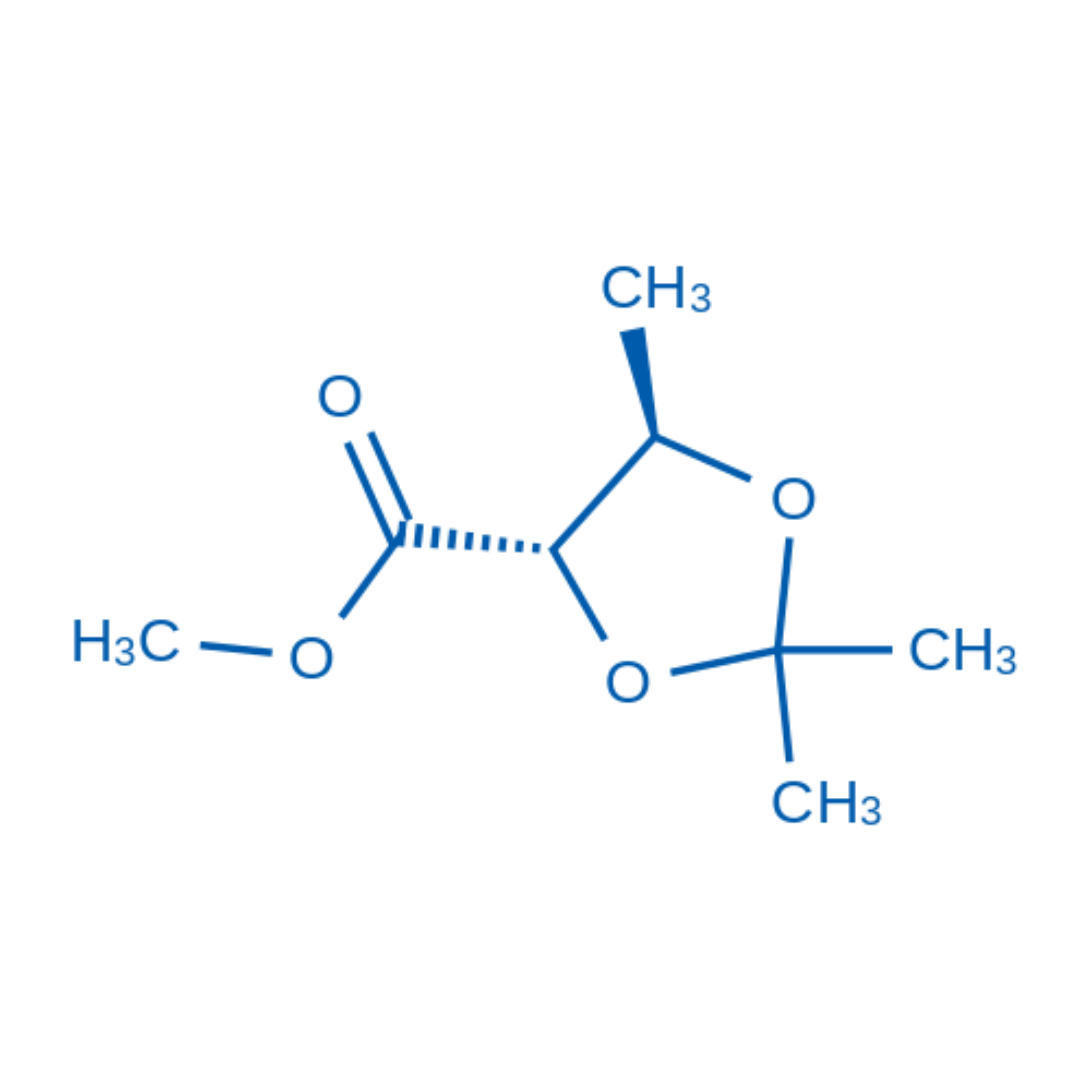 (4S,5R)-Methyl 2,2,5-trimethyl-1,3-dioxolane-4-carboxylate