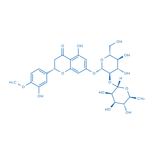 (S)-7-(((2S,3R,4S,5S,6R)-4,5-Dihydroxy-6-(hydroxymethyl)-3-(((2S,3R,4R,5R,6S)-3,4,5-trihydroxy-6-methyltetrahydro-2H-pyran-2-yl)oxy)tetrahydro-2H-pyran-2-yl)oxy)-5-hydroxy-2-(3-hydroxy-4-methoxyphenyl)chroman-4-one