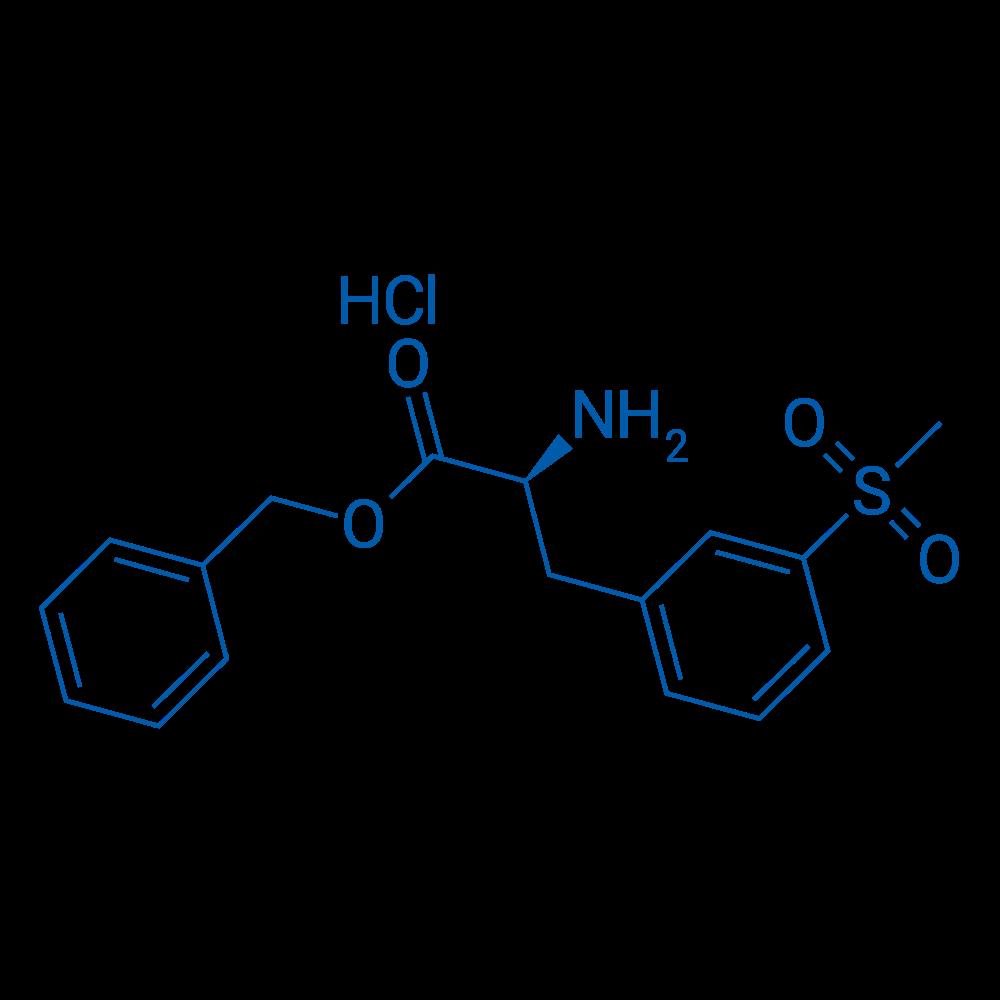 (S)-Benzyl2-amino-3-(3-(methylsulfonyl)phenyl)propanoatehydrochloride