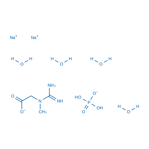Creatine phosphate disodium salt tetrahydrate