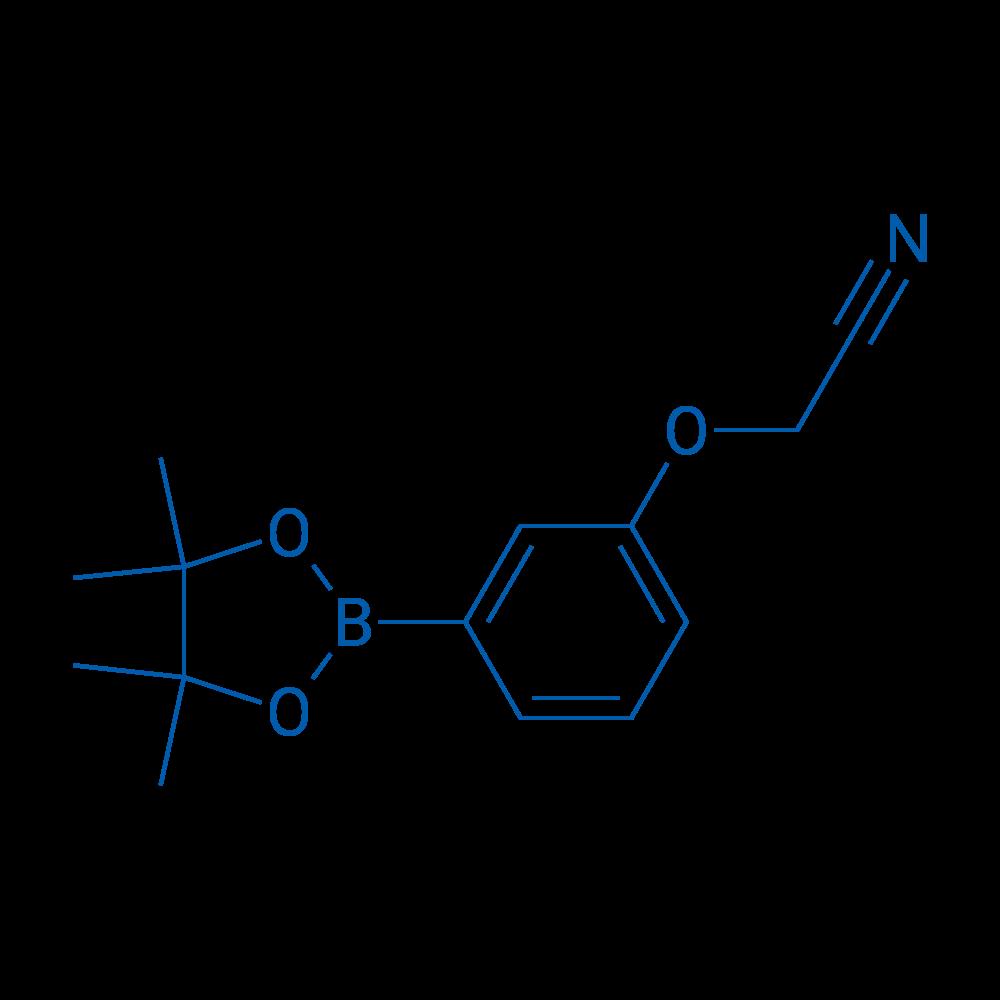 2-(3-(4,4,5,5-Tetramethyl-1,3,2-dioxaborolan-2-yl)phenoxy)acetonitrile