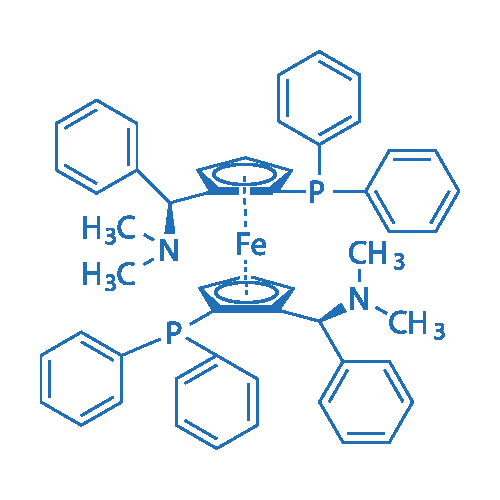(RP,R'P)-1,1'-Bis[(S)-α-(dimethylamino)benzyl]-2,2'-bis(diphenylphosphino)ferrocene