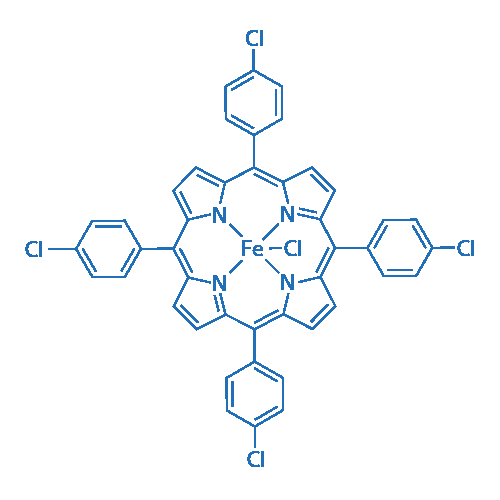 5,10,15,20-tetrakis(p-chlorophenyl)porphyrin iron(III) chloride