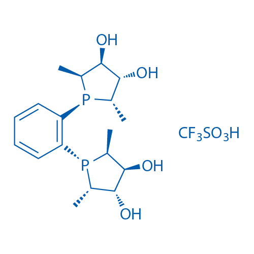 (+)-1,2-Bis[(2S,5S)-2,5-diMethyl-(3S,4S)-3,4-dihydroxyphospholano]benzene bis(trifluoromethanesulfonate)salt