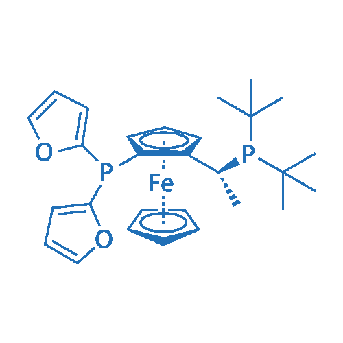 (2R)-1-[(1R)-1-[Bis(1,1-dimethylethyl)phosphino]ethyl]-2-(di-2-furanylphosphino)ferrocene