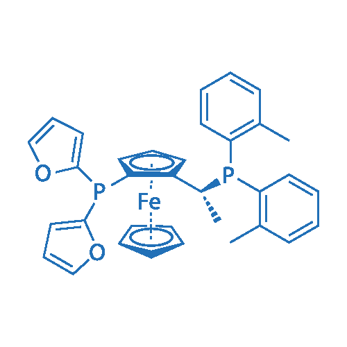 (R)-1-{(SP)-2-[Di(2-furyl)phosphino]ferrocenyl}ethylbis(2-methylphenyl)phosphine
