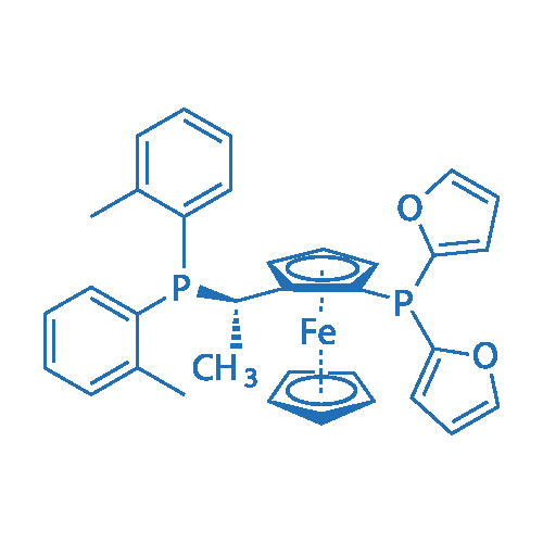 (S)-1-{(RP)-2-[Di(2-furyl)phosphino]ferrocenyl}ethylbis(2-methylphenyl)phosphine