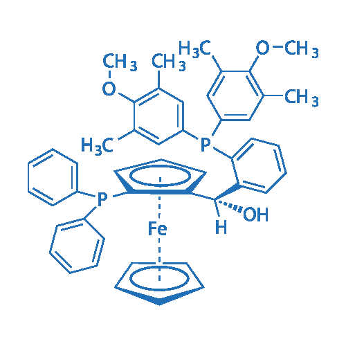 (S)-(-)-[(S)-2-Diphenylphosphinoferrocenyl][2-bis(3,5-dimethyl-4-methoxyphenyl)phosphinophenyl]methanol