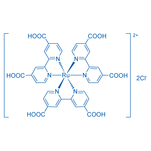 Ruthenate(4-), tris[[2,2'-bipyridine]-4,4'-dicarboxylato(2-)-N1,N1']-, hydrogen chloride (1:6:2)
