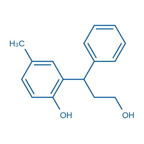 2-(3-Hydroxy-1-phenylpropyl)-4-methylphenol