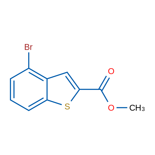 Methyl 4-bromobenzo[b]thiophene-2-carboxylate