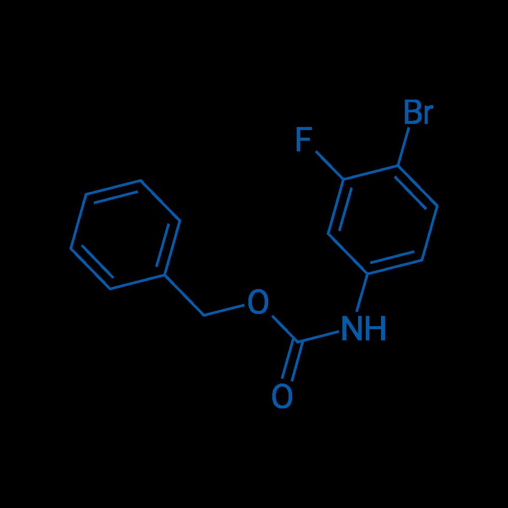 Benzyl (4-bromo-3-fluorophenyl)carbamate