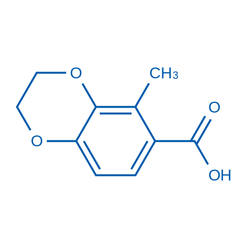 5-Methyl-2,3-dihydrobenzo[b][1,4]dioxine-6-carboxylic acid