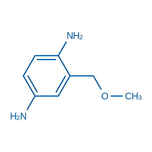 2-(Methoxymethyl)benzene-1,4-diamine