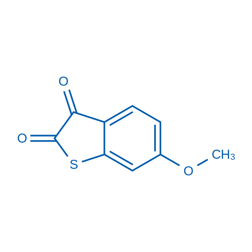 6-Methoxybenzo[b]thiophene-2,3-dione