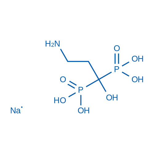 Pamidronic acid sodium salt