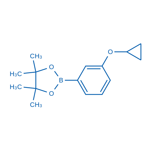 2-(3-Cyclopropoxyphenyl)-4,4,5,5-tetramethyl-1,3,2-dioxaborolane