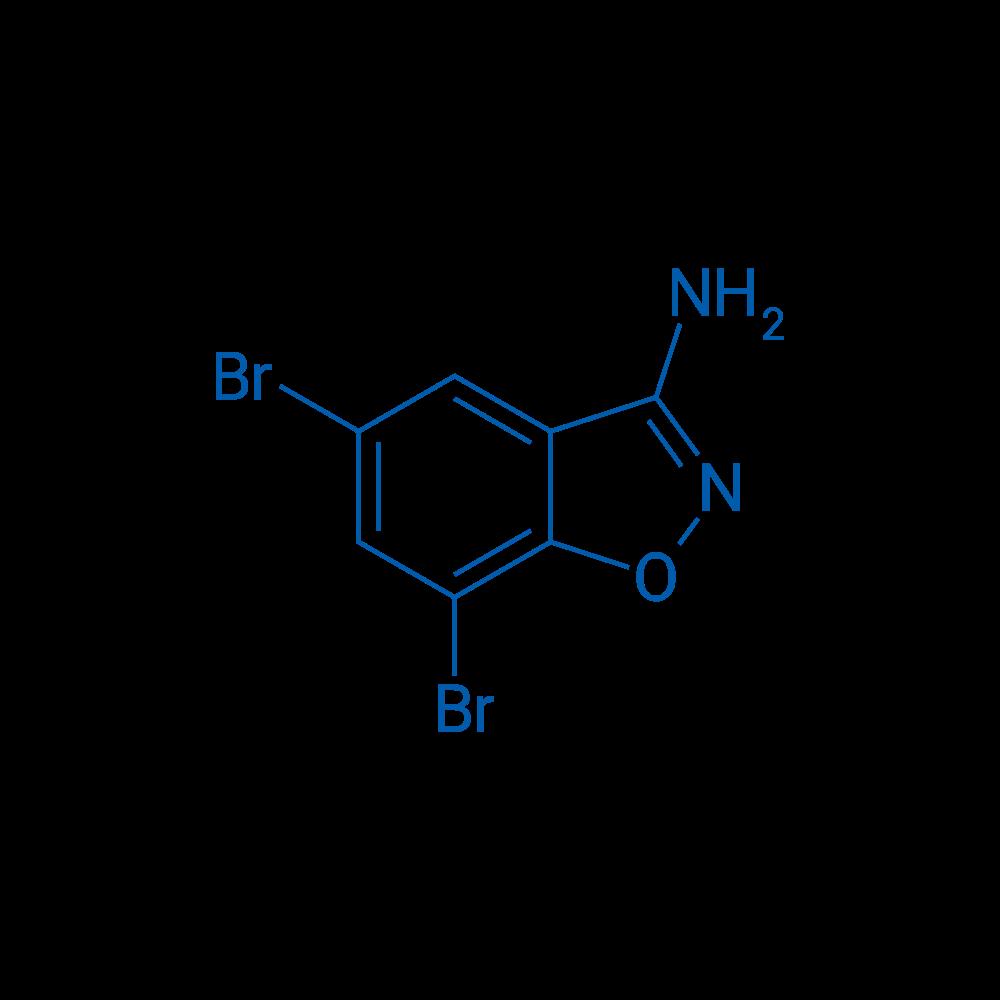 5,7-Dibromobenzo[d]isoxazol-3-amine