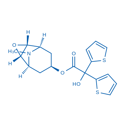 Scopine di(2-thienyl)glycolate