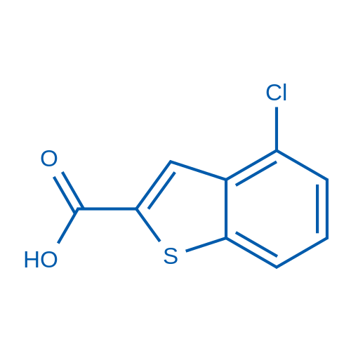 4-Chlorobenzo[b]thiophene-2-carboxylic acid
