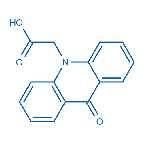 2-(9-Oxoacridin-10(9H)-yl)acetic acid