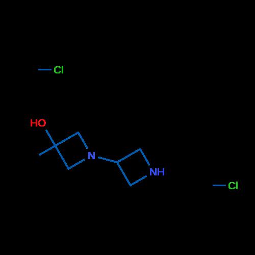 3-Methyl-[1,3'-biazetidin]-3-ol dihydrochloride