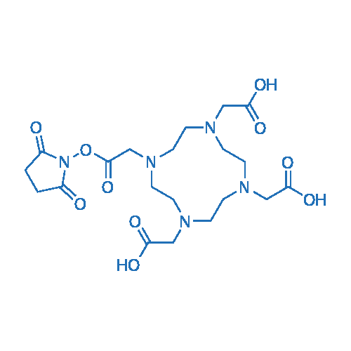 2,2',2''-(10-(2-((2,5-Dioxopyrrolidin-1-yl)oxy)-2-oxoethyl)-1,4,7,10-tetraazacyclododecane-1,4,7-triyl)triacetic acid