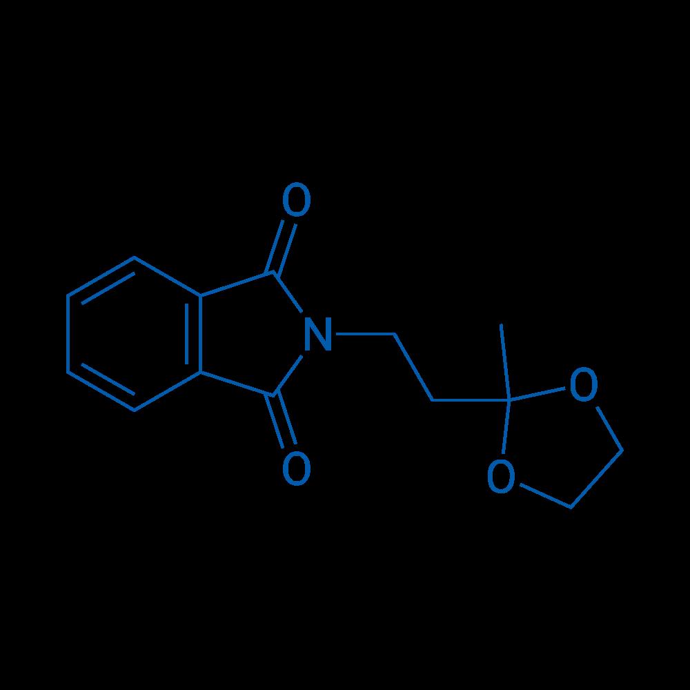 2-(2-(2-Methyl-1,3-dioxolan-2-yl)ethyl)isoindoline-1,3-dione
