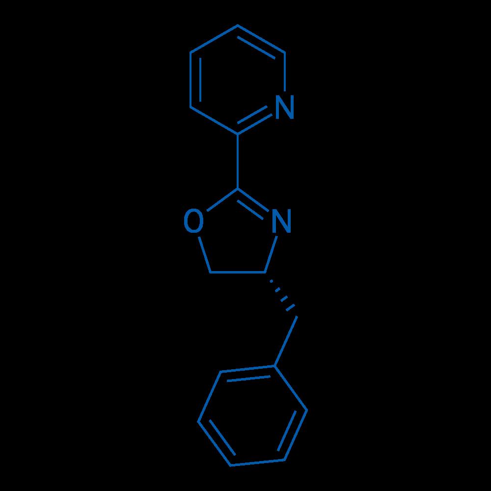2-[(4R)-4,5-Dihydro-4-(phenylmethyl)-2-oxazolyl]pyridine