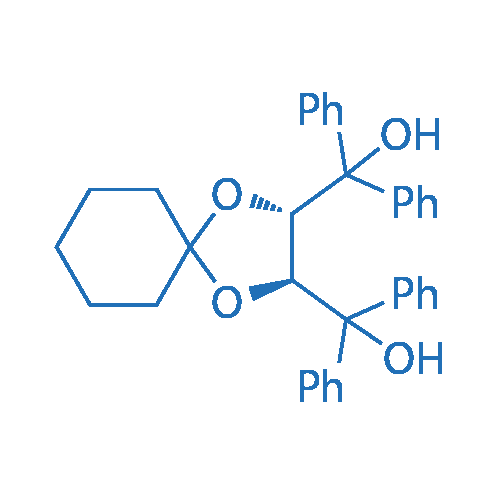(2S,3S)-1,4-dioxaspiro[4.5]decane-2,3-diylbis(diphenylmethanol)