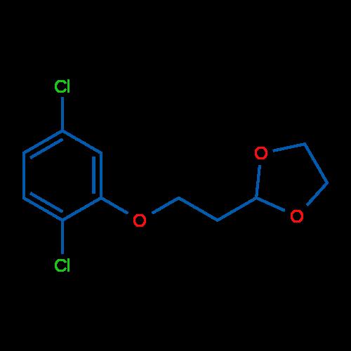 2-(2-(2,5-Dichlorophenoxy)ethyl)-1,3-dioxolane