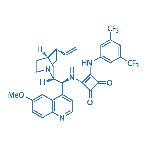 3-[[3,5-Bis(trifluoromethyl)phenyl]amino]-4-[[(8α,9S)-6'-methoxycinchonan-9-yl]amino]-3-cyclobutene-1,2-dione