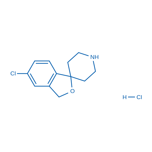 5-Chloro-3H-spiro[isobenzofuran-1,4'-piperidine] hydrochloride