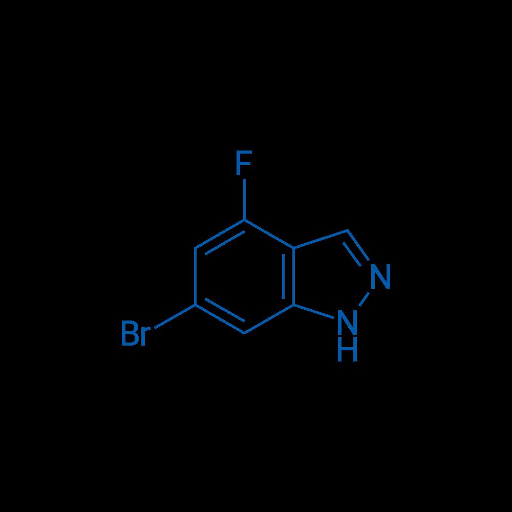 6-Bromo-4-fluoro-1H-indazole