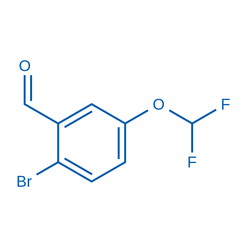 2-Bromo-5-(difluoromethoxy)benzaldehyde