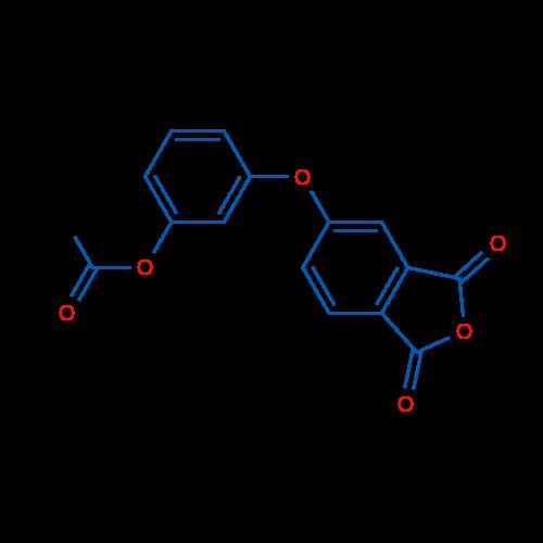 3-((1,3-Dioxo-1,3-dihydroisobenzofuran-5-yl)oxy)phenyl acetate
