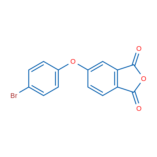 5-(4-Bromophenoxy)isobenzofuran-1,3-dione