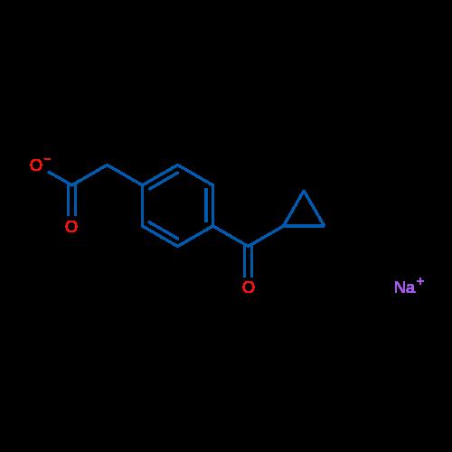 Sodium 2-(4-(cyclopropanecarbonyl)phenyl)acetate